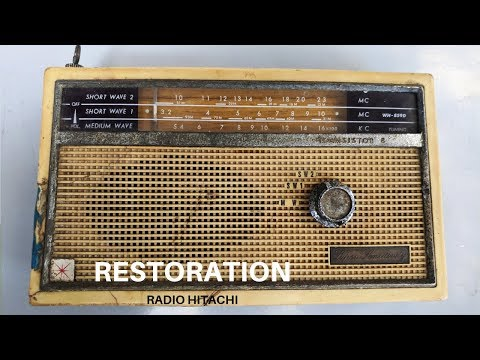 1962 Radio Hitachi Restoration