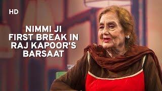 Actress Nimmi   Mehboob Khan Raj Kapoor   Dilip Kumar   Baatein Kahi Ankahi   Bollywood Chat Show