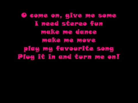 Krezip-Plug it in and turn me on (met songtekst)