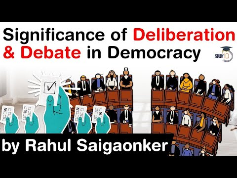 Importance of Dialogue, Debate and Deliberation in Democracy - Lessons from Rajasthan #UPSC #IAS
