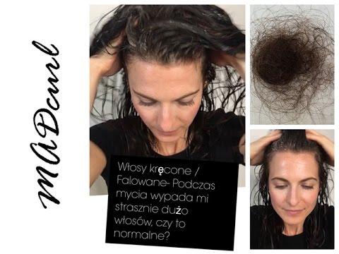 Spadek włosów z powodu braku białka