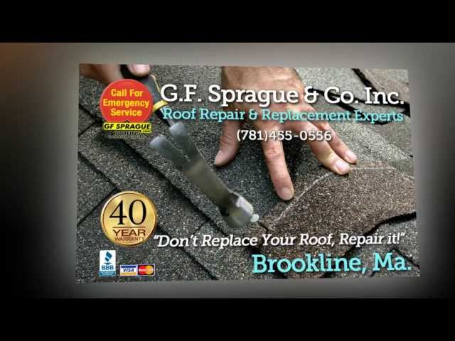 G.F. Sprague Solves Multi-Year Roof Leak on Cape in Brookline MA. With an Innovative Solution    G.F. Sprague is the expert,...