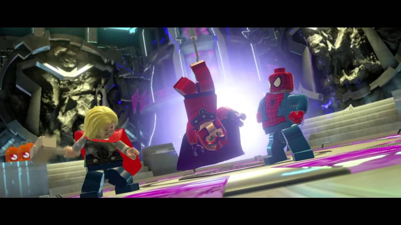 Обложка видео Трейлер с E3 2015 LEGO: Marvel Super Heroes