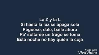 Zion & lennox - la player ( bandolera) letra.