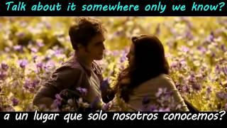 Somewhere Only We Know Elizabeth Gillies and Max Schneider español / Ingles