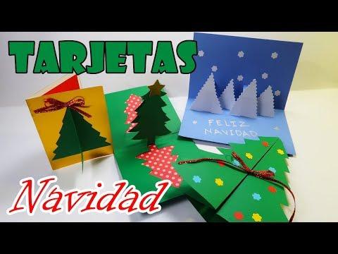 Haz Tarjetas De Navidad Fáciles