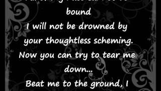 Evanescence Thoughtless Lyrics.