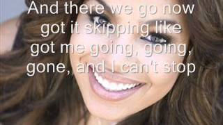Jordin Sparks - Skipping A Beat Lyrics