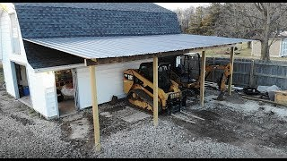 Building a barn lean to