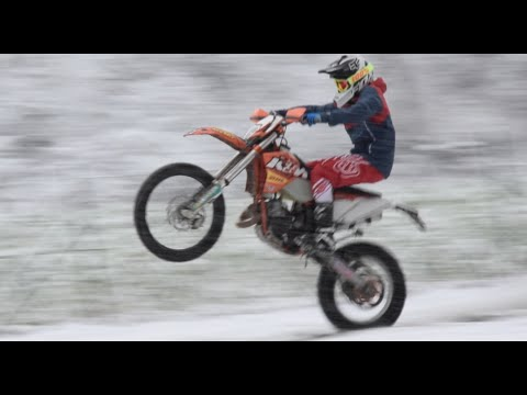 KTM on Snow - EXC 125 HD