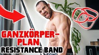 Kompletter Trainingsplan KOSTENLOS (Nur Resistance Band)