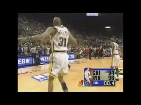 Reggie Miller Game Winner vs Bulls in 1998 Eastern Conference Finals