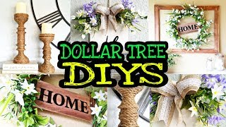 Dollar Tree DIY Farmhouse Home Decor On A Budget