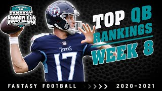 Top 24 QB Rankings Week 8 - 2020 Fantasy Football