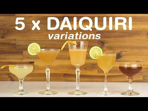 5 x DAIQUIRI VARIATIONS for National Daiquiri Day!