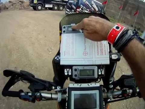 Jordi Viladoms nos cuenta cómo es el sistema de navegación de su moto para 'guiarse' en Dakar 2013