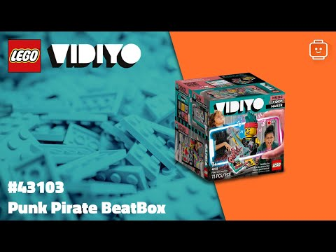 Vidéo LEGO VIDIYO 43103 : Punk Pirate BeatBox