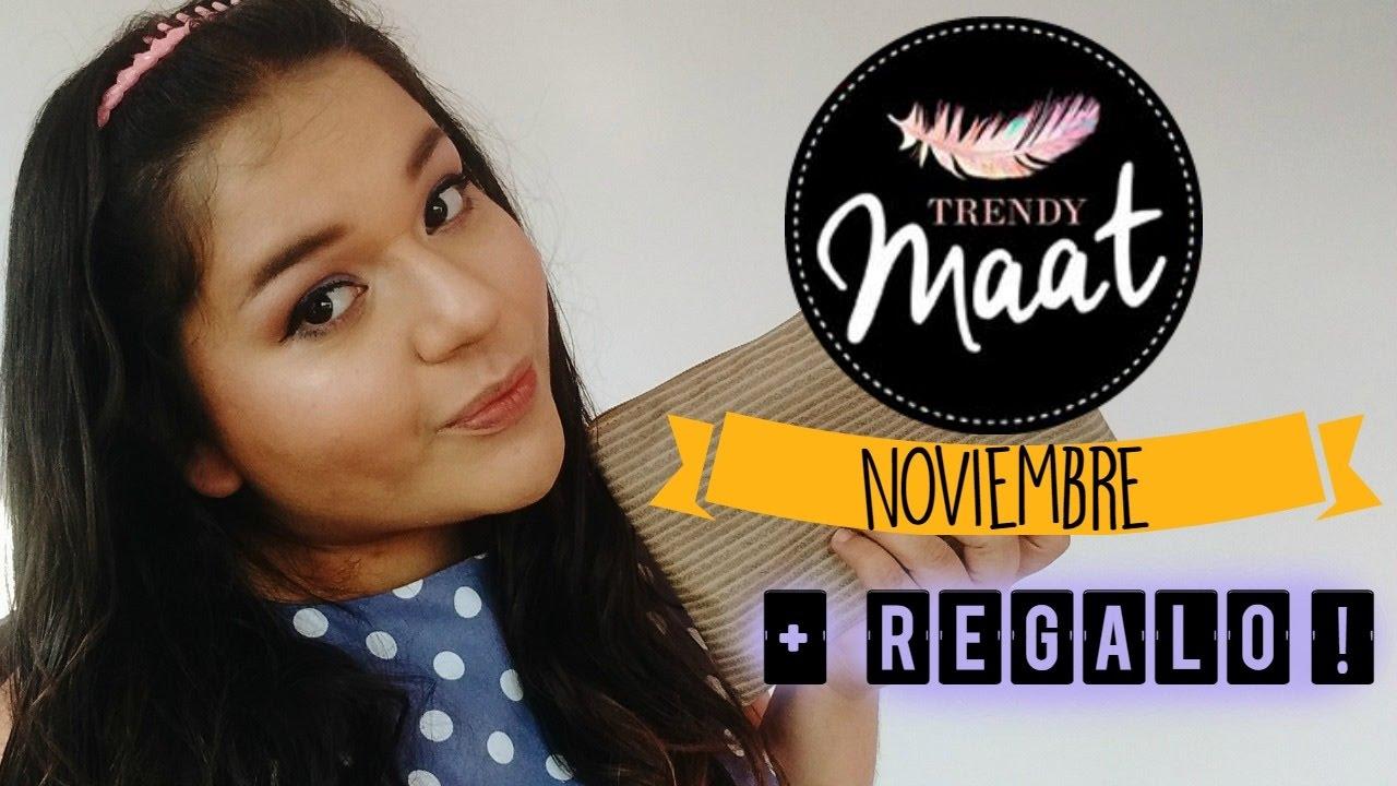 Demelza Makeup - Trendy Maat Noviembre 2016 - Regalo