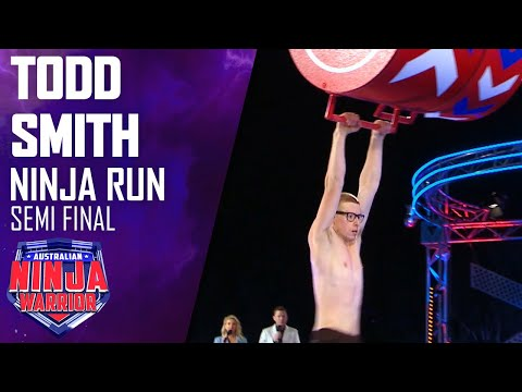 Unseen run: Todd Smith battles through the Semi-Finals | Australian Ninja Warrior 2020