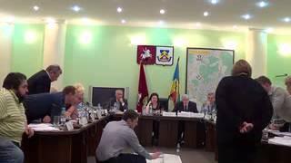 Заседание Совета депутатов МО Ясенево 19/11/2013