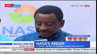 Senator James Orengo alleges police are involved in looting and destruction of property during demos