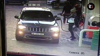 Gunmen attack woman at petrol station