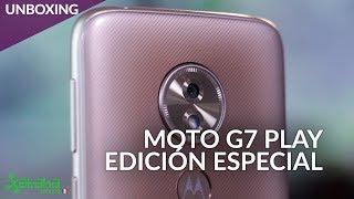Moto G7 Play, UNBOXING: el más PEQUEÑO pero sin RESTAR POTENCIA