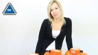 Вибратор площадочный ИВ-99Е от компании ПКФ «Электромотор» - видео 2