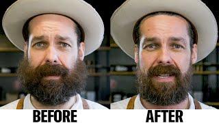 How to Tame a Wild Beard (6 Step Tutorial) | GQ