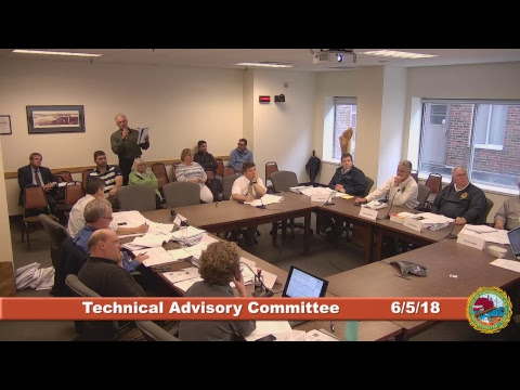 Technical Advisory Committee 6.5.18