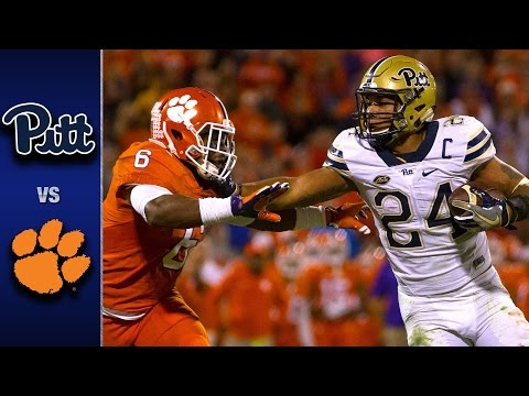 Pitt vs. Clemson Football Highlights (2016)