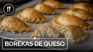 BOREKAS de queso y mezcla de hierbas: las empanadillas de ORIENTE MEDIO más deliciosas