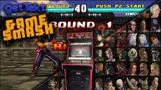Tekken 3 Arcade: gameSmash Retro Arcade Gameplay