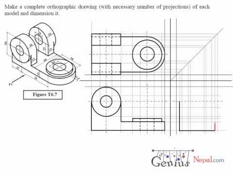 Technical drawing tutorials