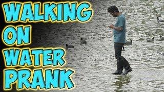 Смотреть онлайн Пранк: Хождение по воде