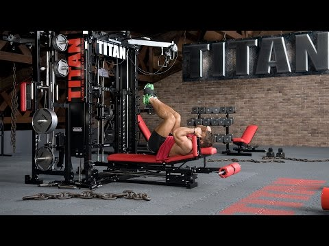 Cable Lying Straight Leg-Hip Raise