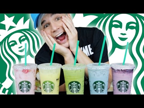 Video HOW TO ORDER STARBUCKS SECRET DRINK MENU! RAINBOW!!!