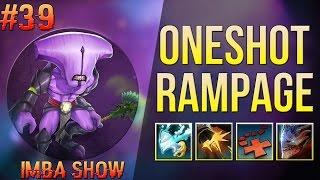 ONESHOT RAMPAGE в Ability Draft Dota2 | IMBA SHOW #39