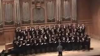 """Маленькая кантата из оперы """"Не только любовь"""", хор Московской консерватории"""