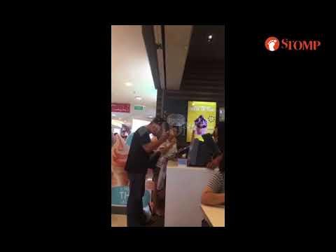 Man hurls vulgarities at Hougang Mall McDonald's employees: