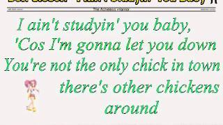 Don Gibson - I Ain't Studyin' You Baby