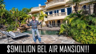 EPIC $9MILLION  BEL AIR MANSION!!!