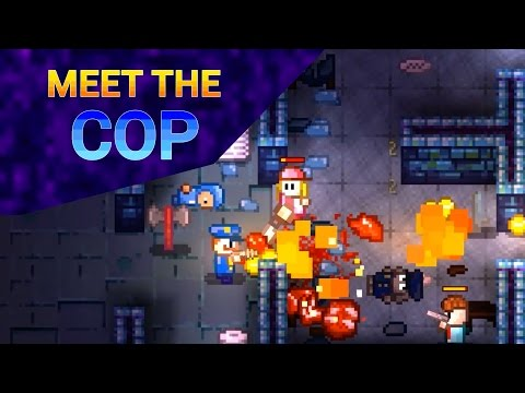 Streets of Rogue: Meet The Cop Trailer thumbnail