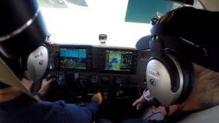 Flight No. 113 VFR ILS R36L to Napa (KAPC)