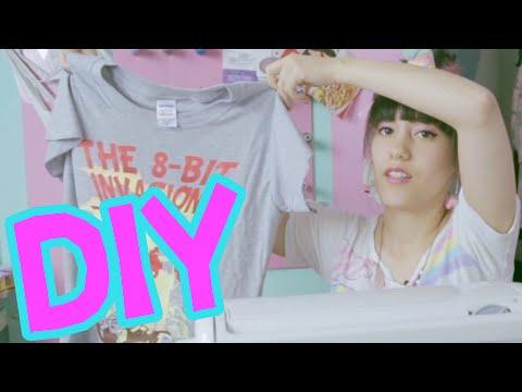 DIY | T-Shirts verkleinern