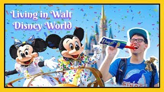 MAN SPENT ENTIRE YEAR LIVING AT DISNEY WORLD | Kevin Heimbach YouTube Rewind 2018