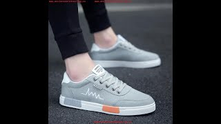 2019 NEW FASHION MEN,S BREATHABLE CANVAS SHOES CASUAL SHOES BOYS