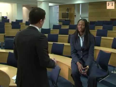 Chioma's MBA Admissions Tips Interview With The Financial Times