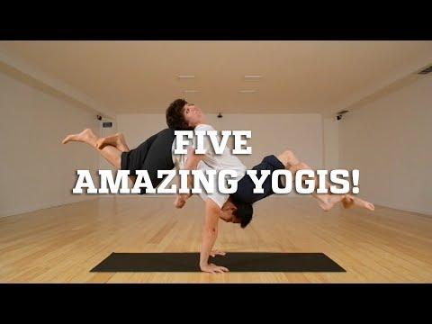 Five Amazing Yogis!