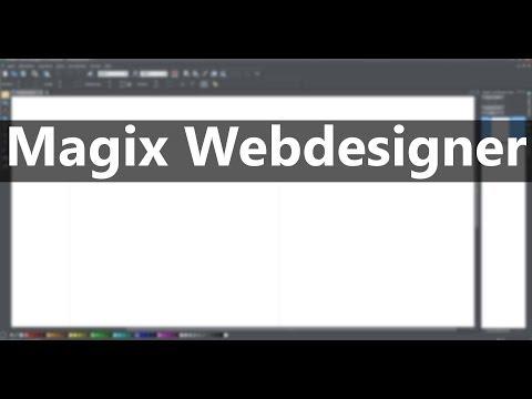 Magix Webdesigner - Button und Navigationsleisten erstellen